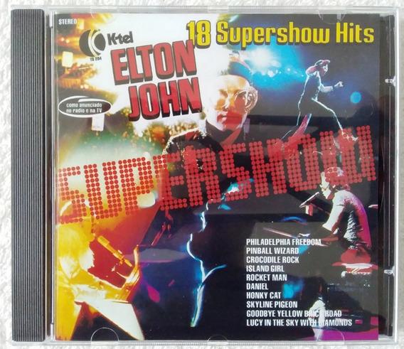 Cd Elton John 18 Supershow Hits K-tel / Ed. Trilhas & Afins