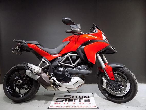 Ducati Multistrada1200s Roja 2014