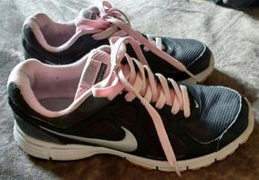 Tenis Nike Revolution Preto E Rosa Numero 37