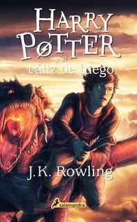 Harry Potter 4 Caliz De Fuego - Rowling - Libro Nuevo Envio