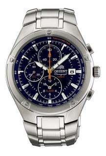 Reloj Orient Crono Para Hombre Sumergible Agente Of. Liniers