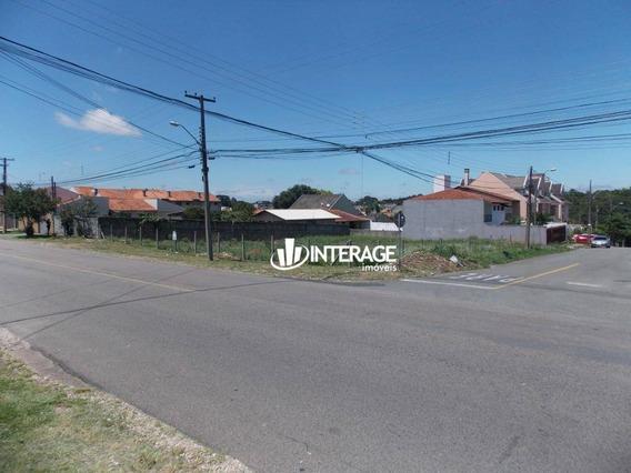 Terreno Para Alugar, 1064 M² Por R$ 2.000/mês - Santa Felicidade - Curitiba/pr - Te0273