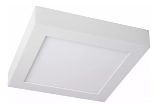 Panel Plafon Spot Polo Led Techo Aplicar 18w 22x22cm Lumenac