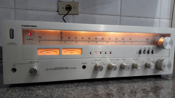 Receiver Stereo Toshiba Model Tm-7540 Lindo E Perfeito