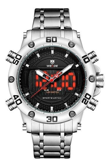 Relógio Digital E Analógico Masculino Original Esportivo