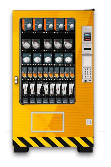 Máquina Expendedora Vending De Cubrebocas Y Mascarillas