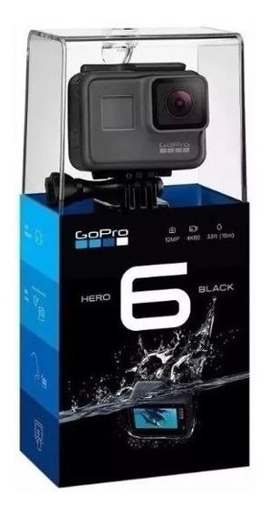 Gopro Hero 6 Black 100% Original Com Acessórios Frete Grátis