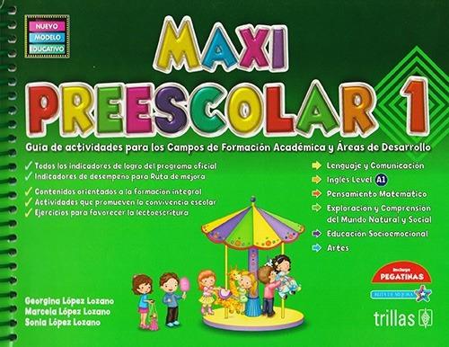 Imagen 1 de 1 de Libro Maxi Preescolar 1 Guía De Actividades ¡envío Gratis!