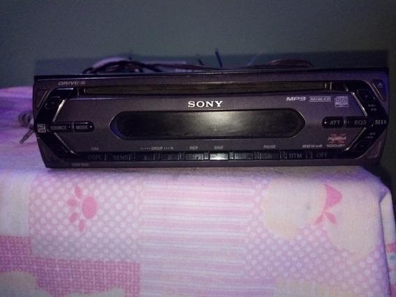 Reproductor Sony Cdx-s22 Cd, Fm/am Y Entrada Auxiliar.