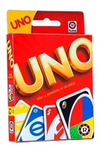 Imagen 1 de 3 de Mattel Uno Ruibal Original