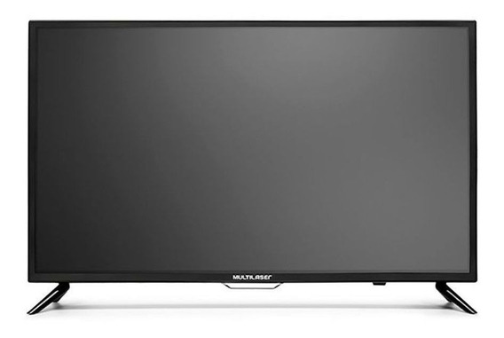 Monitor Tv Multilaser Hd 32 Pol Hdmi Usb Com Conversor Tl001