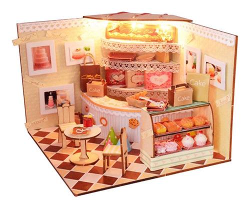 Imagen 1 de 6 de Modelismo Dormitorios Habitación Cocina De Madera Escala