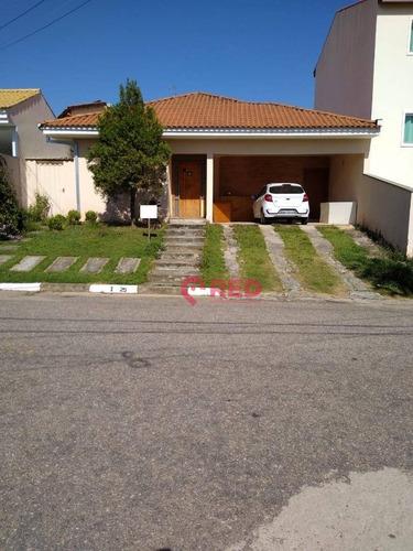 Casa Com 4 Dormitórios À Venda, 228 M² Por R$ 640.000,00 - Condomínio Ibiti Do Paço - Sorocaba/sp - Ca0208