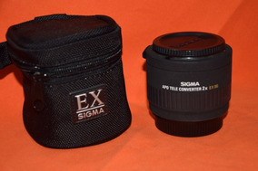 Apo Tele Converter 2x Dg Ex Sigma, Mount Nikon F , Usado