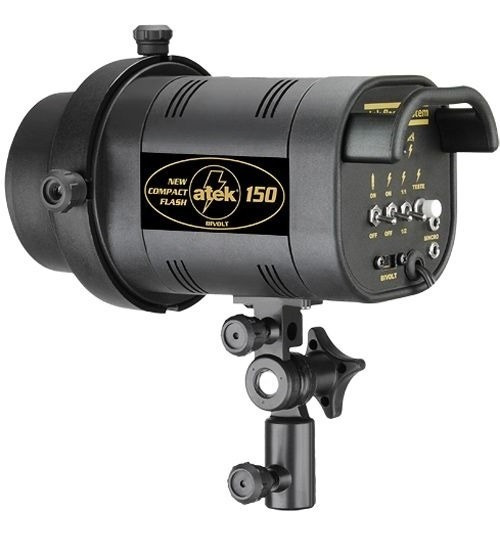 Flash Estudio Fotográfico - Atek 150 Compact - 150w