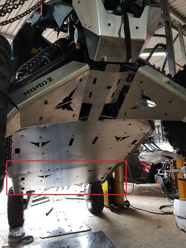 Imagem 1 de 5 de Extensão Skid Plate Compatível C/ Can-am Maverick X3 Max 4mm