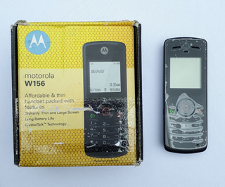 Celular Motorola W156 (antigo, Monocromático Preto E Branco)