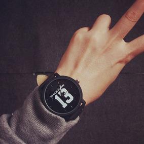 Relógio Masculino Quartzo De Pulso Preto Jis 13