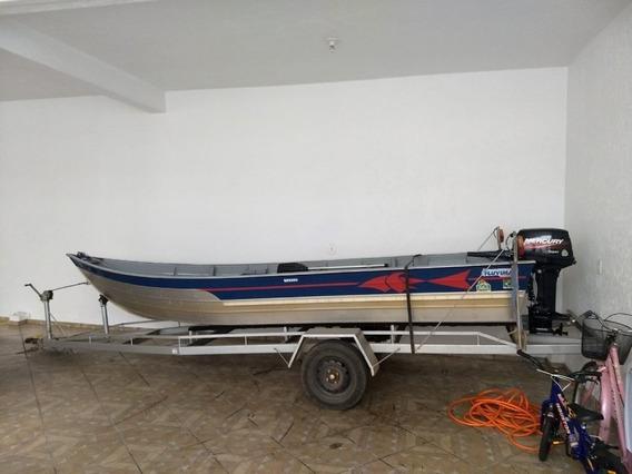 Barco Fluvimar Br5000 - Com Reboque