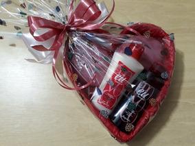 Presente Jequiti Eu Morango- Hidratante+ Sabonete+ Perfume