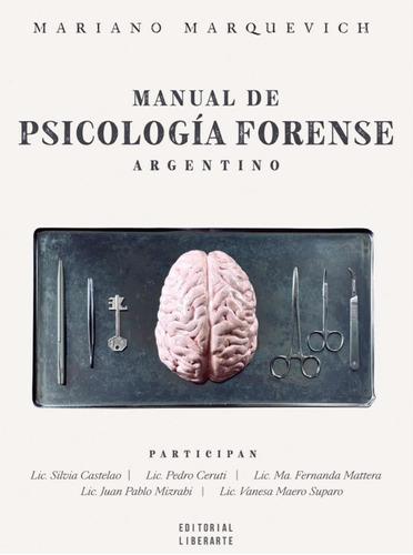 Manual De Psicología Forense Argentino
