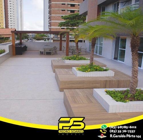 Apartamento Com 2 Dormitórios À Venda, 72 M² Por R$ 330.000 - Brisamar - João Pessoa/pb - Ap2243
