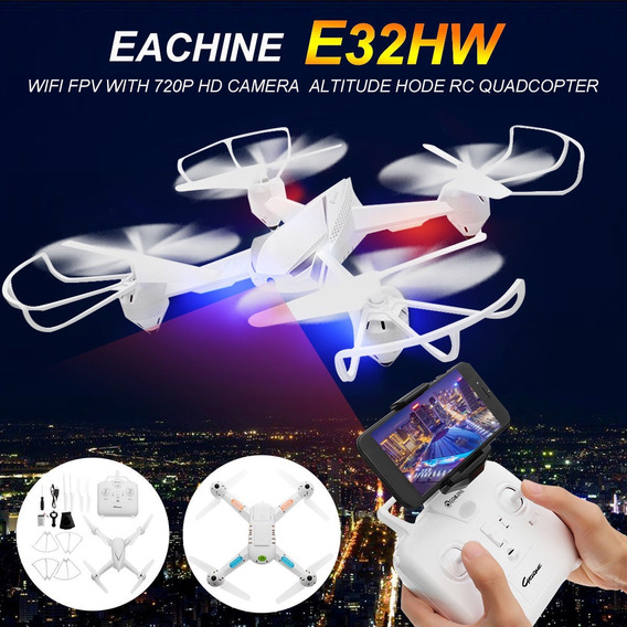 Eachine E32hw Wifi Fpv Com 720p Hd Câmera Altitude Hold