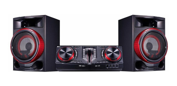 Mini System Lg Xboom Cj87 Multi Bluetooth 1800w Rms Usb