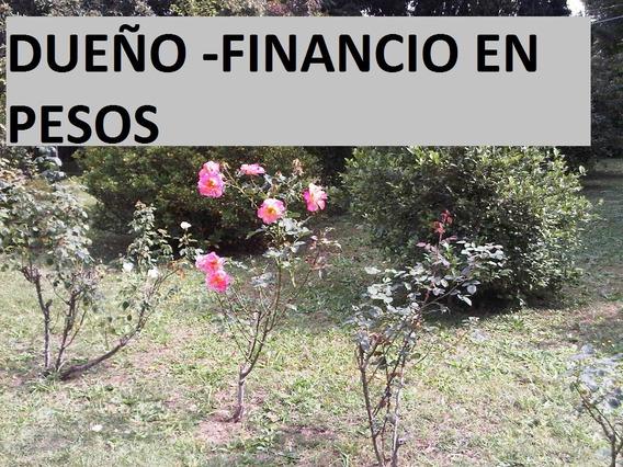 Terreno Excelente Ubicacion Dueño Vende Financio Adel Y Cuot