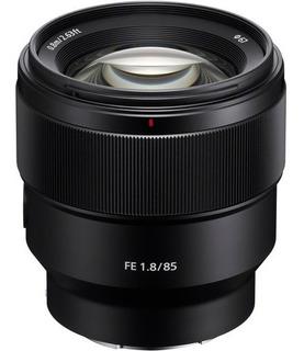 Lente Sony Sel Fe 85mm F/1.8 Sel85f18