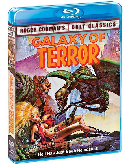 Blu-ray Galaxy Of Terror (shout Factory) Lacrado[importado]