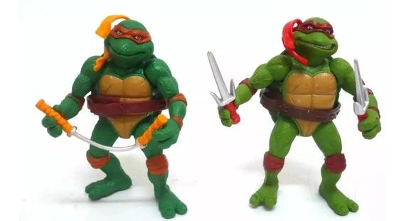 4 Bonecos Tartarugas Ninjas