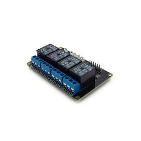 Módulo Relé 4 Canais 5v 10a Arduino Pic (1017)