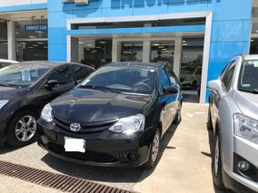 Toyota Etios 1.5 Sedan X Ideal Tambien Para Taxi!! Negro#7