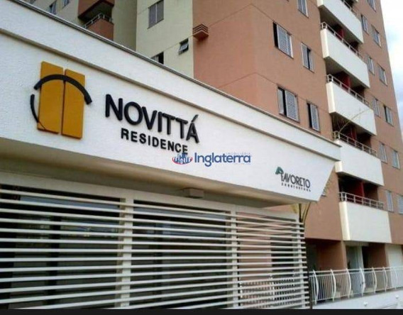 Apartamento Com 3 Dormitórios Para Alugar, 73 M² Por R$ 1.400,00/mês - Centro - Londrina/pr - Ap1305