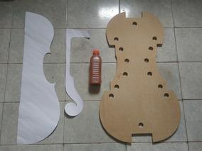 Forma De Cello + Moldes + 500ml Verniz + Planta Em Pdf.