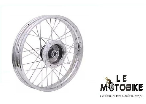 Roda Montada Dianteira Nxr Bros 125 150 160 2003 A 16 Tambor