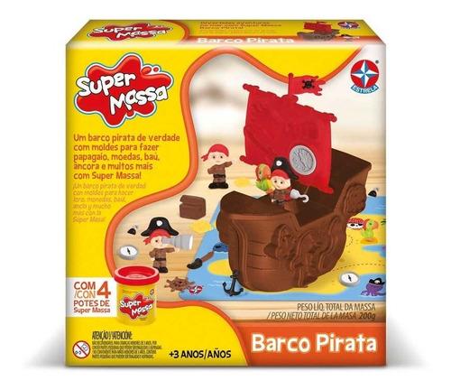 Super Massa Barco Pirata Estrela