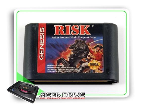 Risk The World Conquest Game Original Mega Drive - Genesis
