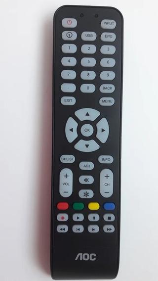 Controle Remoto Tv Aoc Cr1994511/01 100% Original Usado