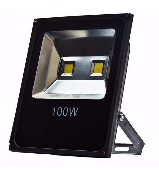 Refletor Holofote Super Led 100w Branco Frio Prova D