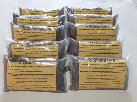 10 Kits Adubo Completo P/ Plantio De Mudas De Café Cafeeiro