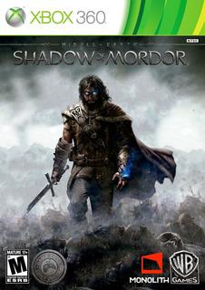 Juego Shadow Of Mordor Xbox 360 Usado