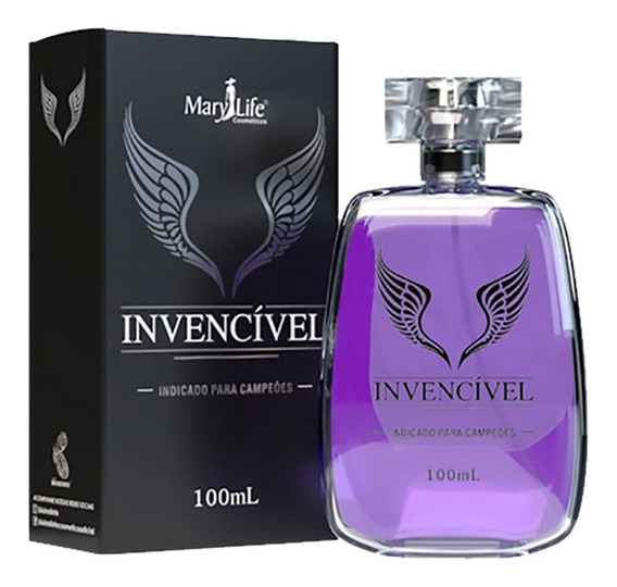 Perfume Masculino Invencível 100ml - Mary Life
