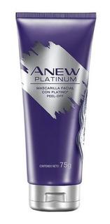 Anew Platinum Mascarilla Facial Con Platino Peel - Off Avon