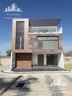 Casa En Venta Parque Veracruz. Lomas De Angelópolis