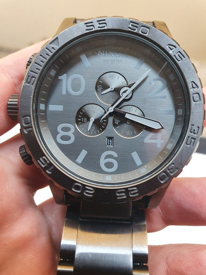 Nixon Chrono 51-30 Gunmetal/gray
