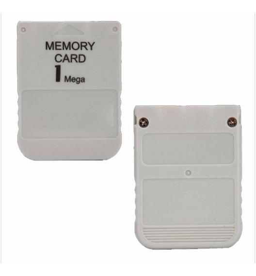 Memory Card Playstation 1 Ps1 Psone Psx Novo 1 Mb