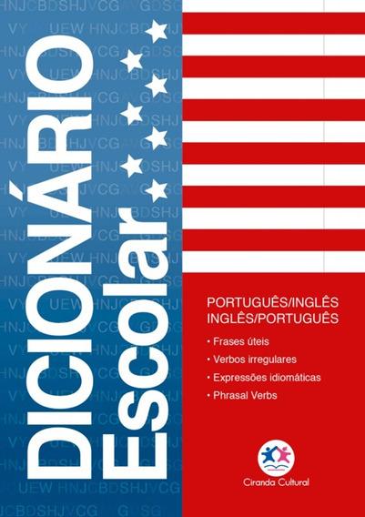 Mini Dicionário Escolar Português Inglês Ciranda Cultural
