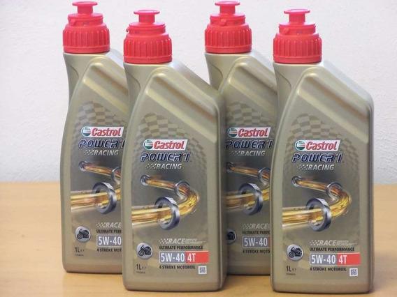 4 Litros Óleo Castrol Power1 Racing 5w40 100%sint Bmw 1200gs